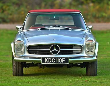 1968 Mercedes 280SL KDC110F