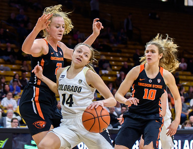PAC12 - Women's Basketball - CU vs Oregon State - 20180128