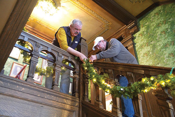 Decorating Trail End for the Holidays
