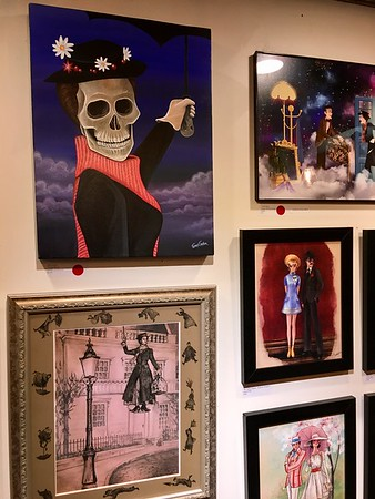 February 11, 2017 - #Supercalifragilistic: Popzilla Gallery's Mary Poppins Exhibition
