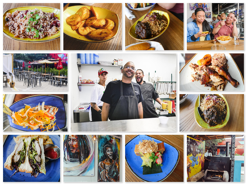 Dukunoo Jamaican Kitchen Collage