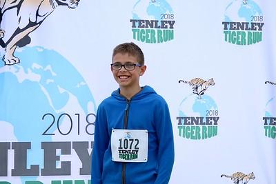 Tenley Tiger Run 2018 - Photo Backdrop