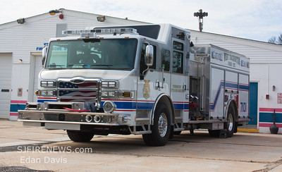 West Tuckerton (Ocean County) new Engine 71-01 and Tower 71-05
