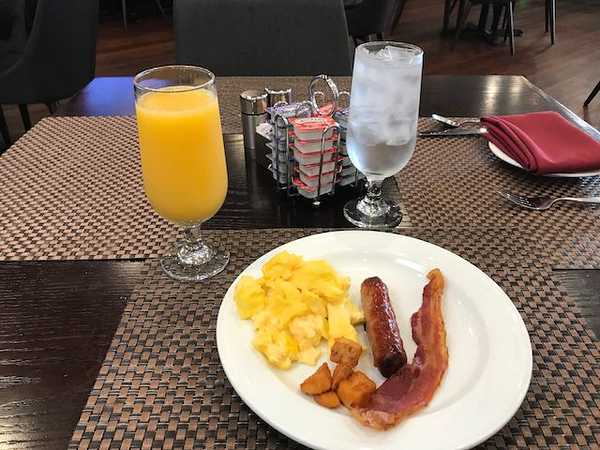 With a nice breakfast I was headed to Toronto.