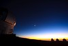 Mauna Kea New Moon at Sunset :