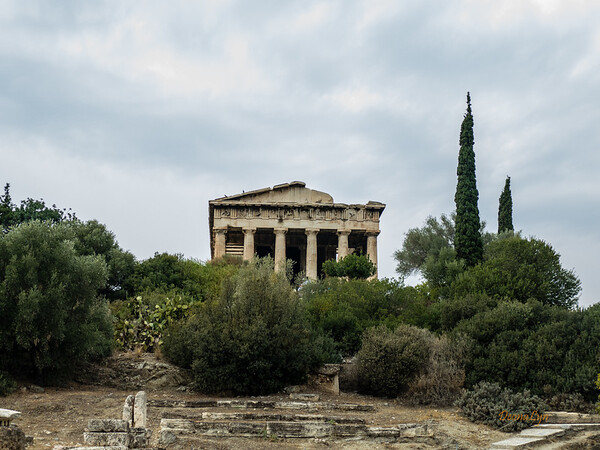 Temple of Hephaistos, Athens Greece
