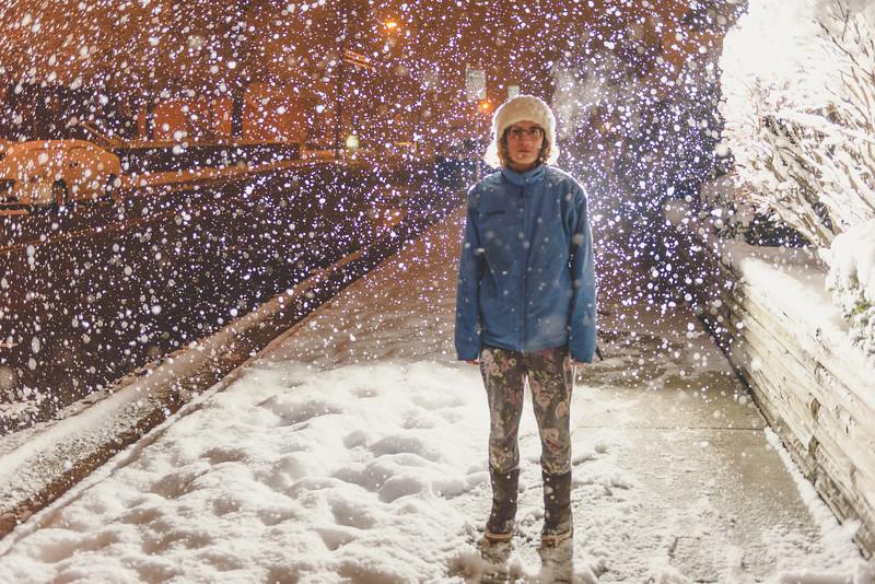Indiana April Snow