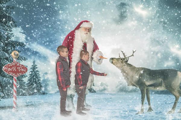 Halcomb Santa Photo