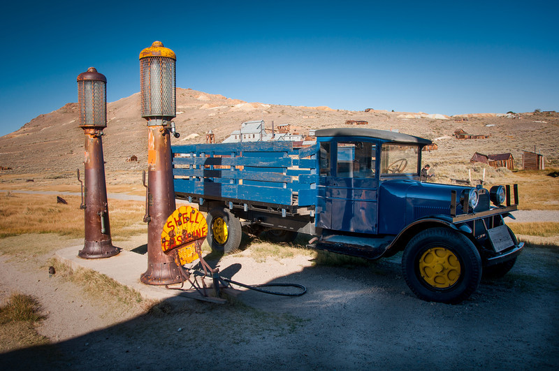Bodie Shell Gas Station