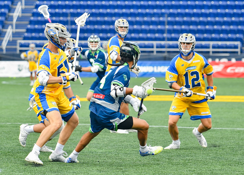 July 24, 2020 Annapolis, MD Navy-Marine Corps Memorial Stadium Chesapeake Bayhawks vs Connecticut Hammerheads. Photography Credit: Alex McIntyre