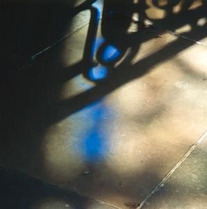 Shadow on the church floor