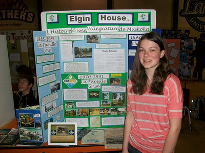 2012 - North Bay Regional Heritage Fair