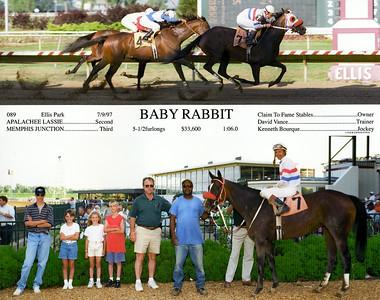 BABY RABBIT - 7/09/1997
