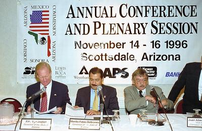 1996-11  Arizona Mexico Commission Plenary Session
