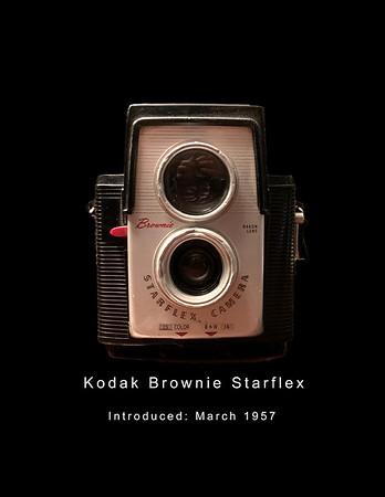 Kodak Brownie Starflex Camera 1957 - 60's