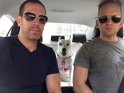 Long Island Dog Beach Day Trip July 2014