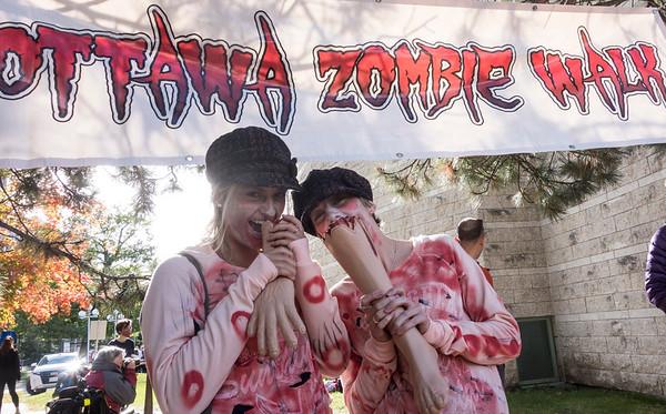 Ottawa Zombie Walk 2015