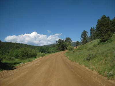 Ride via Mammoth Gulch, Apex, OMG to Idaho Springs