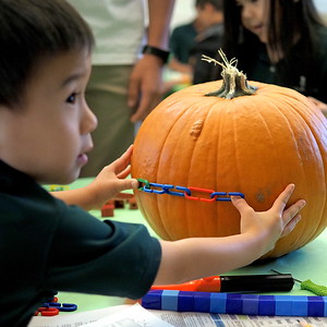 Kindergarten Pumpkin Carving