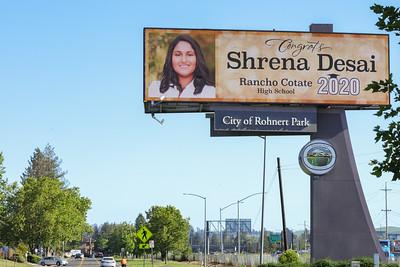 VEALE Outdoor Advertising billboard grads 5-27-2020