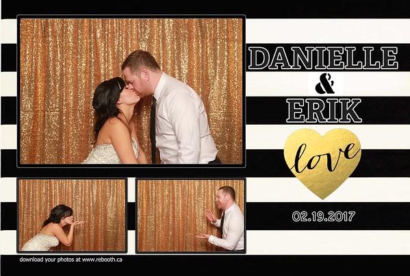 Danielle & Erik Wedding 2017