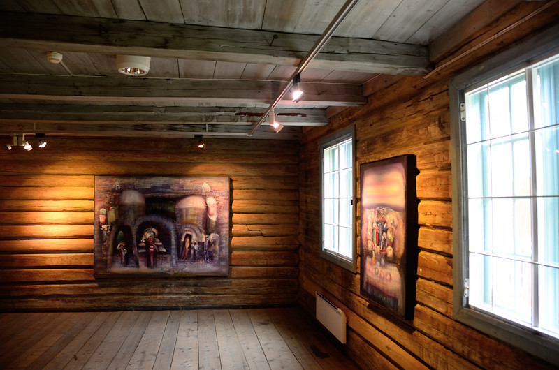 Ringebu Prestehus, art gallery
