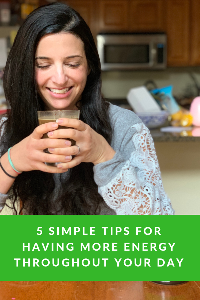 Feeling sluggish? We do, especially during the cold months! Here are 5 tips to give you more energy and make you feel invigorated & alert #ad #myEarthGenius