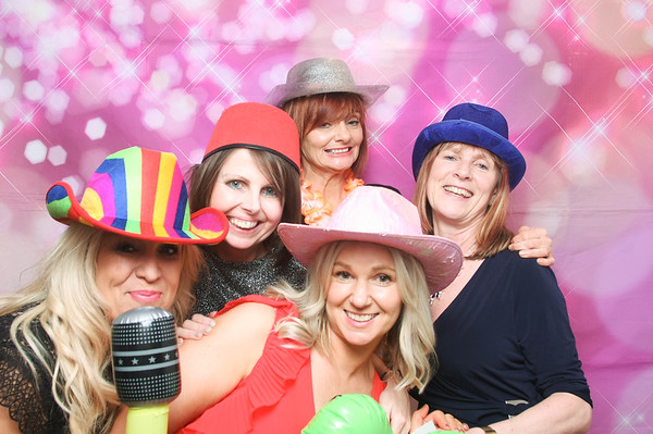 Photo Booth Hire - Emily's 50th Celebrations