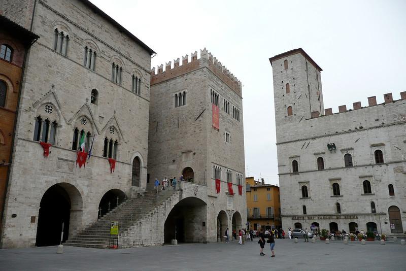 Palazzo del Capitano e Palazzo dei Priori. Todi, Umbria