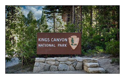 Kings Canyon National Park - USA - Over The Years.