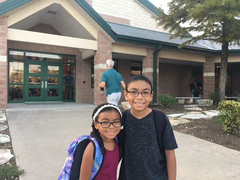 Elijah and Naomi | 3rd | Steiner Ranch Elementary School