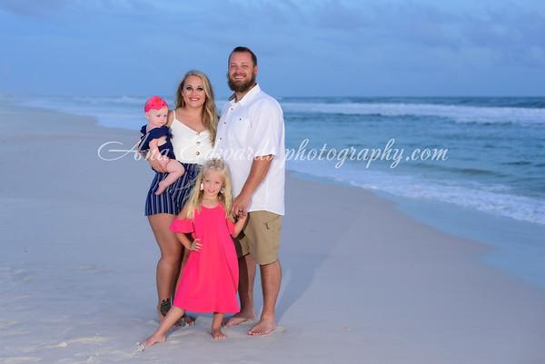 The Ledford family  |  Panama City Beach