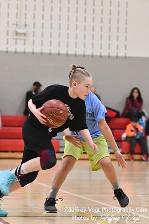 2/16/2019 6th Grade Montgomery County Recreation Basketball Up County Rec Basketball Team Bucket Boys vs Attack at Plum Gar Recreation Center, Photos by Jeffrey Vogt Photography
