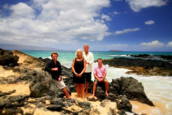 Walker Family On Maui