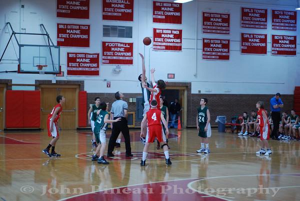 2010-01-30 Boys Basketball 8th Grade