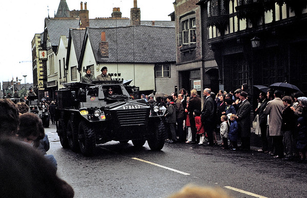Chester: military parade