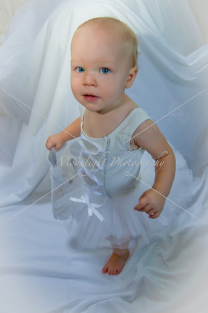Isla white tutu 18 months