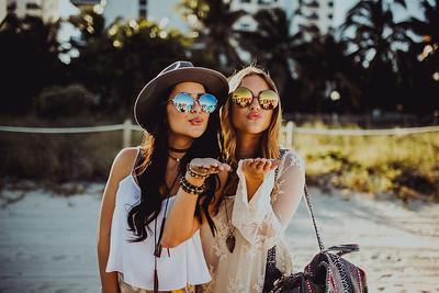 Sophia and Carlie