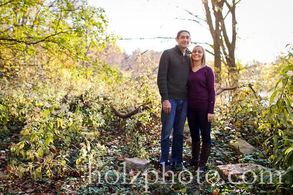 Michelle & Jeremy Color Engagement Photos (Louisville, Ky)