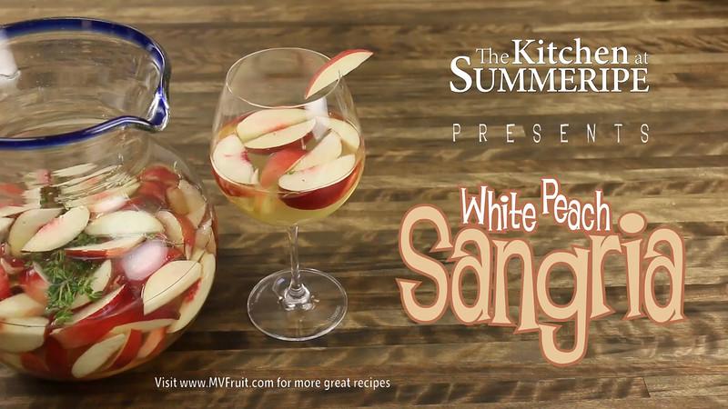 Summeripe White Peach Sangria
