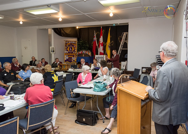 Lions A-16 Cabinet Meeting - June 6, 2015