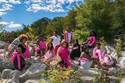 "Dynasty of Curves ""Pink Shoot""  10-4-14"