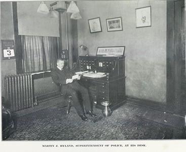 Superintendent Martin J  Hyland 1913