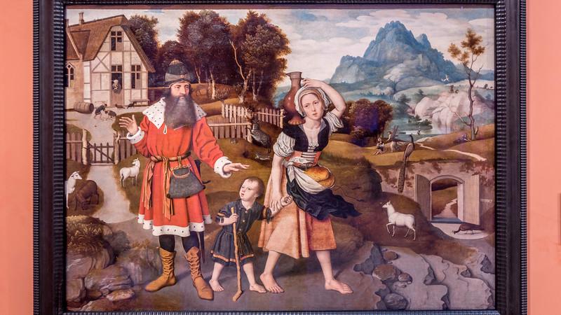 01810 Jan Mostaert 1520 The Expulsion of Hagar 16x9.jpg