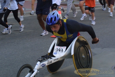 25K Finish - 2001 River Bank Run