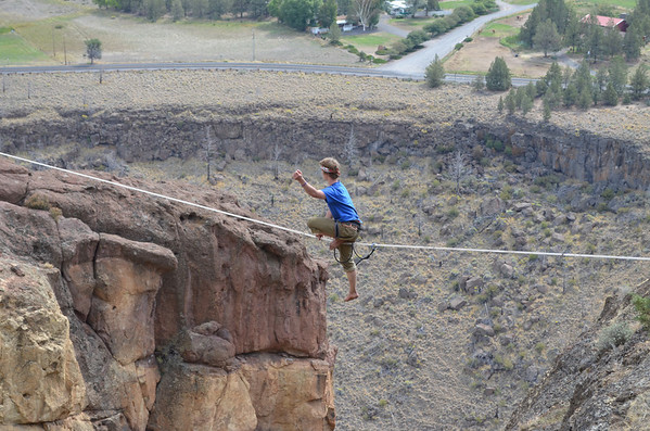 2013 Smith Rock Slackline Gathering