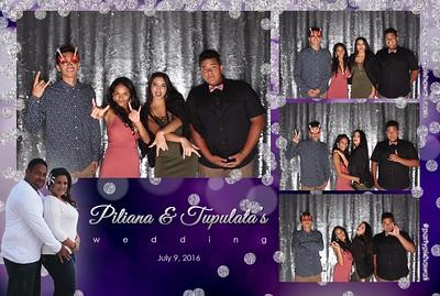Piliana & Tupu's Wedding (LED Open Air Photo Booth)
