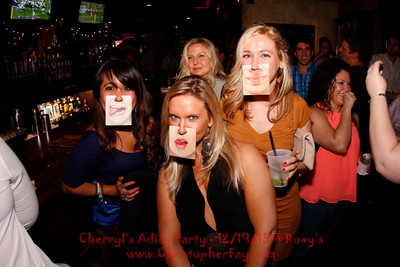 Cherryl's Adios Party @ Roxy's 12/19/15