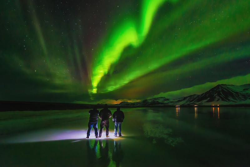 Northern Lights in Snæfellsness