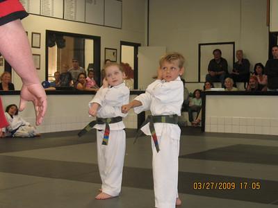 3-27-2009 Color Belt Promotions
